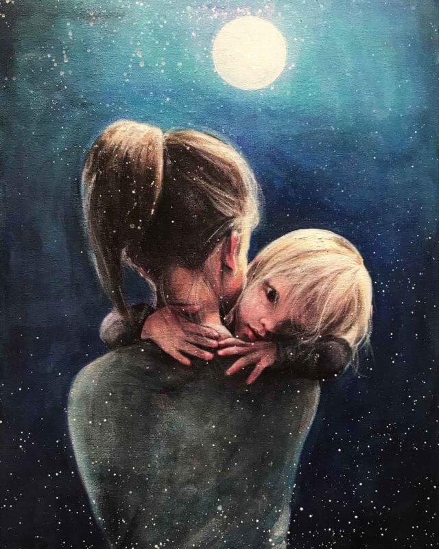 Mor og barn av Gro Mukta Holter