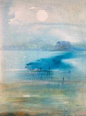 Havet og oss 60 x 80 cm